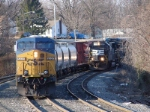 CSX 5337 & NS 2527
